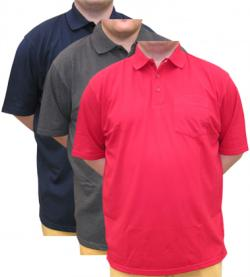Plain Pocket Polo